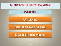 PERÍFRASIS VERBAL - Aula Virtual SAFA