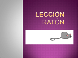 lección ratón (462106)