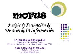 mofus - Universidad Nacional de Cuyo