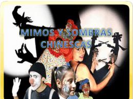 MIMOS Y SOMBRAS CHINESCAS