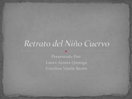 Retrato del Niño Cuervo - historiasenconstruccion