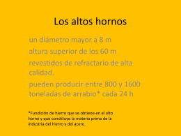 Los altos hornos