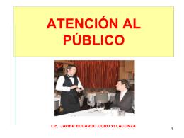 Atención al Público
