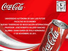 Diana Karen De Ávila Hernández Coca.Cola