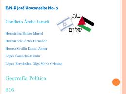 Conflicto Árabe-Israelí - Blog de Geografía, Geografía Económica y
