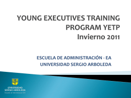 young executives training program yetp