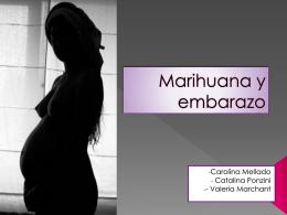 Marihuana y embarazo