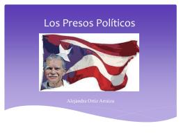 Presentación Presos Políticos