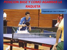 POSICION BASE Y COMO AGARRAR LA RAQUETA