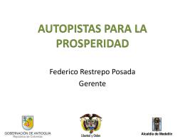 AUTOPISTAS PARA LA PROSPERIDAD