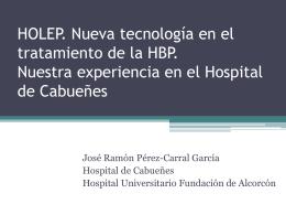 Indicaciones de cirugía de la HBP