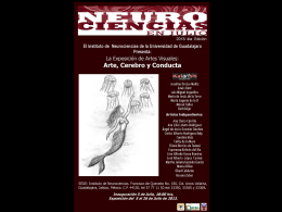 Arte, cerebro y conducta - Instituto de Neurociencias