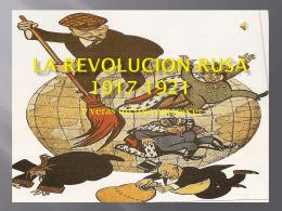 la revolucion rusa 1917-1921 - www.franciscoblanco.wordpress.com