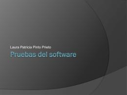 Pruebas del software parte 1 laura Pinto