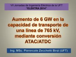 Aumento de 6 GW en la capacidad de transporte