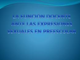 D.F.S. Expo sexualidad eq.