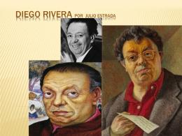 Diego Rivera por Julio Estrada