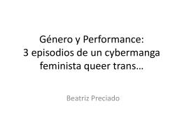 3 episodios de un cybermanga feminista queer trans