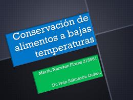 Almacenamiento a Bajas temperaturas - FCQ
