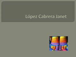 López Cabrera Janet