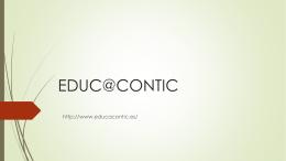 EDUC @ CONTIC Marta reales