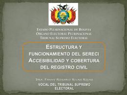 Fanny Rosario Rivas - Consejo Nacional Electoral