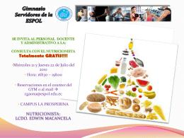Gimnasio Servidores de la ESPOL