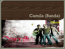 Camila (Banda).