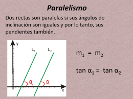 G analitica 12 paralelismo