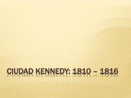 Ciudad Kennedy 1961