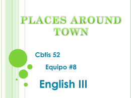Diapositiva 1 - English 3 CBTIS 52