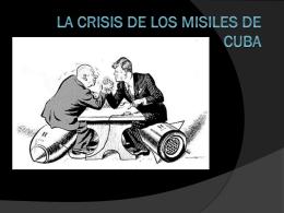 La crisis de los misiles de Cuba