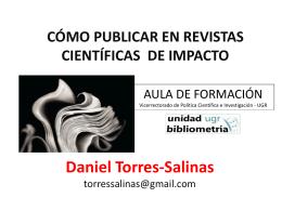 Como publicar en revistas de impacto_torressalinas