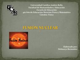 fusión nuclear - fusionnuclear