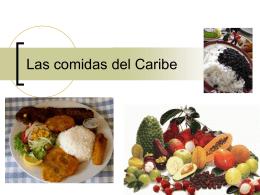 Las comidas del Caribe