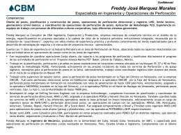 CV Freddy Marquez