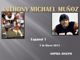 Michael Anthony Muñoz - Sophia Joseph E