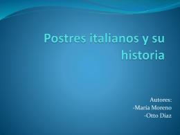 Postre italianos y su historia - Culturaitaliana2012-1