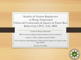 Modelos regulatorios de tension en riego empresarial