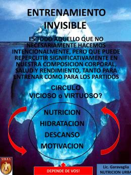 Entrenamiento invisible URBAWEB