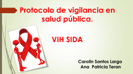 PROTOCOLO DE VIH