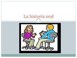 la-historia-oral 1