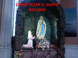 Como rezar el Santo Rosario (MISTERIOS