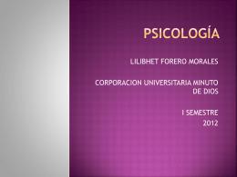 psicología - PSICOLOGY12