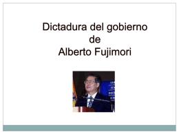 Emerson y Nuria - Gobierno de Fujimori - Sociales-TIC