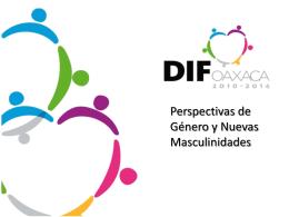 Perspectiva de Género y Nuevas Masculinidades – SEDIF Oaxaca