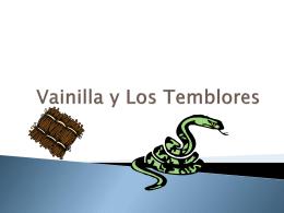 Vainilla y Los Temblores