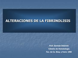 Fibrinolisis y CID