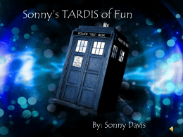 Sonny*s TARDIS of Fun