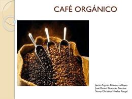 CAFÉ ORGANICO - Investigacion-2257-2012-2